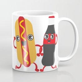 Hotdog & Coke Coffee Mug