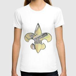 Fleur De Lis Bourbon Street T-shirt