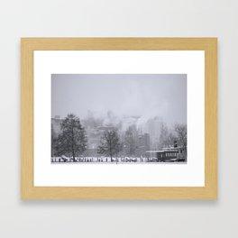 Winter in Finland Framed Art Print