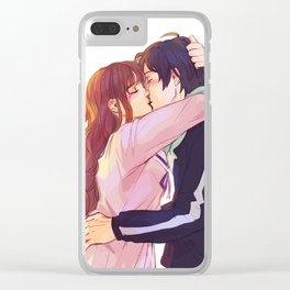 Noragami kisses Clear iPhone Case