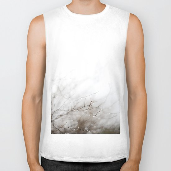 Dance in the rain Biker Tank