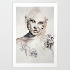 Barnacle girl Art Print
