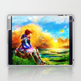Nausicaa of the Valley of the Wind Laptop & iPad Skin