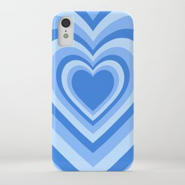 Beating Heart Blue iPhone Case