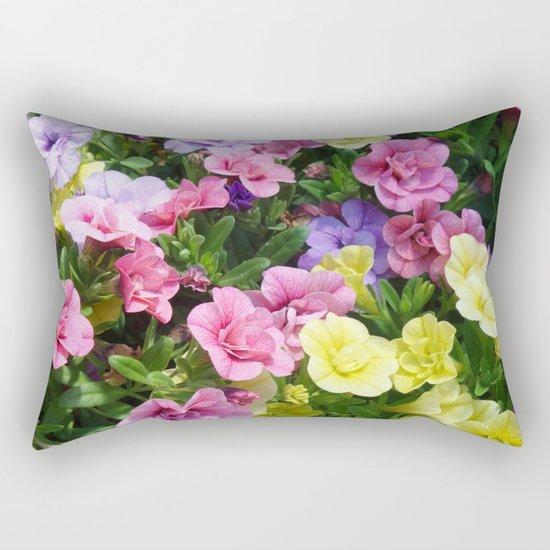 Lovely Flowers 17 Rectangular Pillow