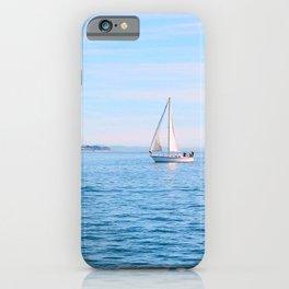 Blue Sailing iPhone Case