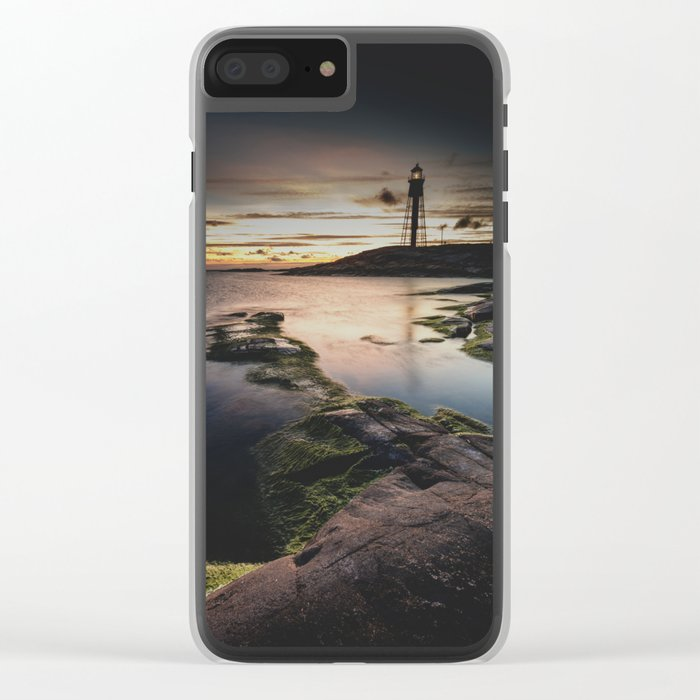 I walk the line Clear iPhone Case