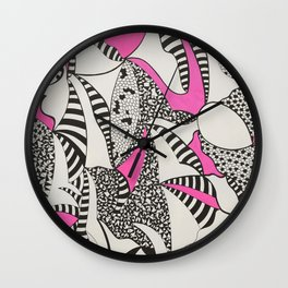 The Pink Wall Clock