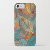 andreas preis iPhone & iPod Cases featuring Autumn Pattern by Klara Acel