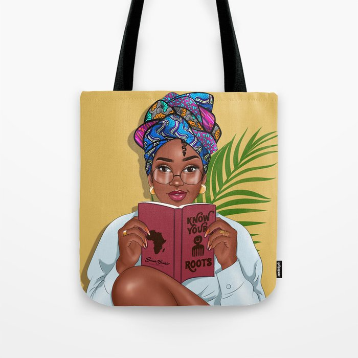 Read Between The Lines By Bennie Buatsie Tote Bag by Society6