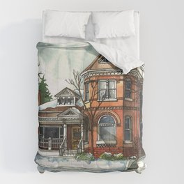 Victorian Eclectic in The Avenues Comforters