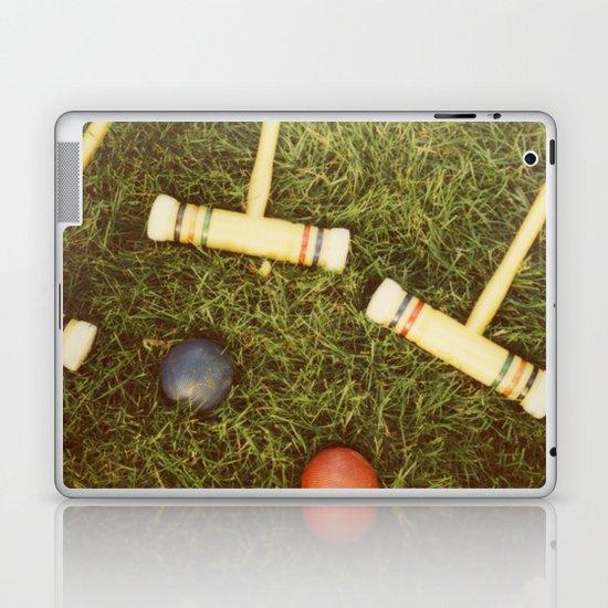 Croquet Laptop & iPad Skin