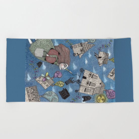 Moving Day Beach Towel