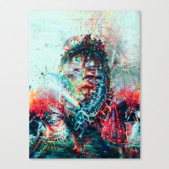 Sci-Fi Daymare Canvas Print