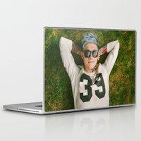 niall horan Laptop & iPad Skins featuring Niall Horan Punk Edit by Vinny's Edits