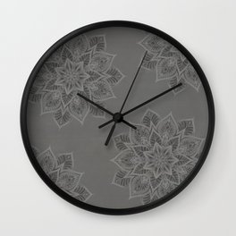 Essence - Stamp Gray Wall Clock