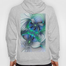 Fantasy Place, Abstract Fractal Art Hoody