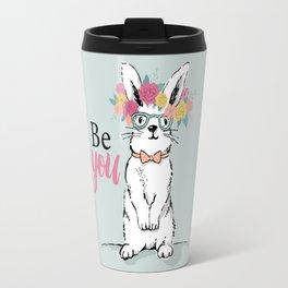 Be You Bunny Travel Mug