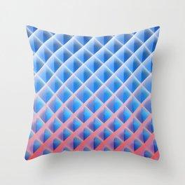 Deep Magic Grid 03 Throw Pillow