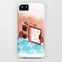 Letters Story Part 1/6: A post office to send love.  iPhone Case