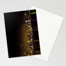 Chicago at Night Stationery Cards