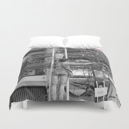 SO YOU THINK YOU ARE HAVING A BAD DAY Duvet Cover