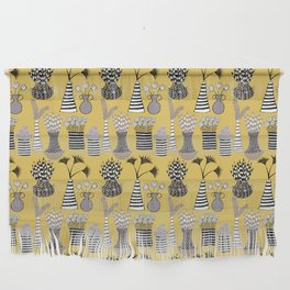 Vases and Stripes Wall Hanging