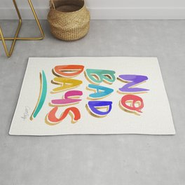 No Bad Days – Rainbow Palette Rug