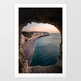 Cave Window Art Print