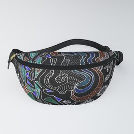 Music Head Fanny Pack