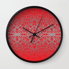 Floral abstract background G101 Wall Clock