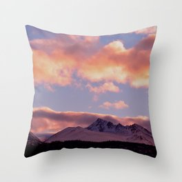 Rose Serenity Sunrise Throw Pillow