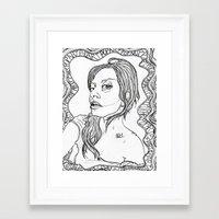 artpop Framed Art Prints featuring ARTPOP by Justine Kessler