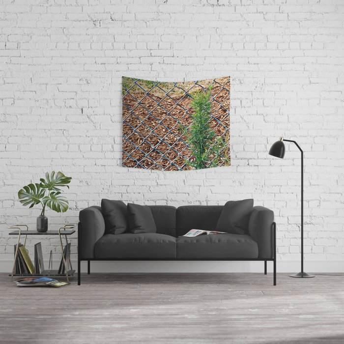Fence Wall Tapestry