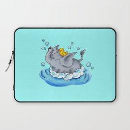Bubble Bath Buddy Laptop Sleeve