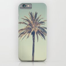 Retro palm tree Slim Case iPhone 6