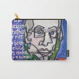 Justice Ruth Bader Ginsburg Carry-All Pouch