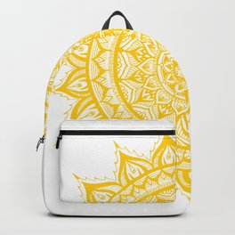 Sunflower-Yellow Backpack