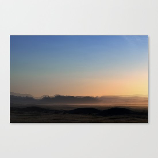 Fractured desert Canvas Print