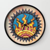 sublime Wall Clocks featuring Sublime by Soul Flow Creations