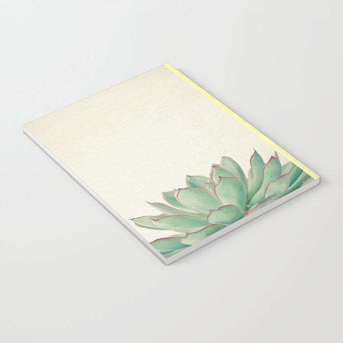 Echeveria Notebook