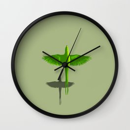 Parot (Global Warming) Wall Clock