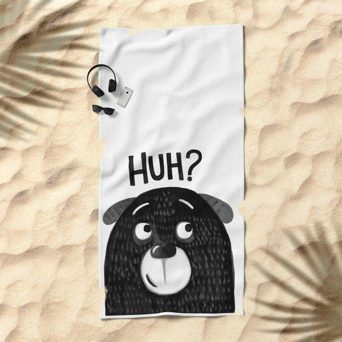 HUH PUPPY Beach Towel