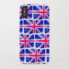 Watercolour Union Jack  iPhone X Slim Case