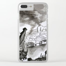 Chronicles of Assassins Clear iPhone Case