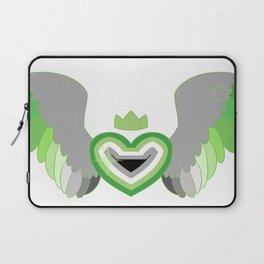 Aromantic Heart Laptop Sleeve
