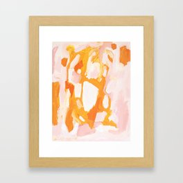 Candy Coated Framed Art Print