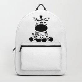 Cute Baby Zebra Backpack