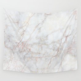 White Marble 004 Wall Tapestry