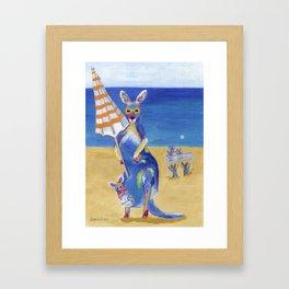 KangarBall Framed Art Print